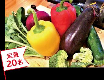 Misora Terrace Italy(ミソラ テラス イタリー)簡単!野菜の目利き講座 定員20名