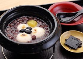 叶匠寿庵の土鍋ぜんざい