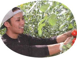 草津市農業後継者クラブの「地元の新鮮野菜」