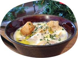 Misora Terrace Italyの「クラムチャウダースープ」