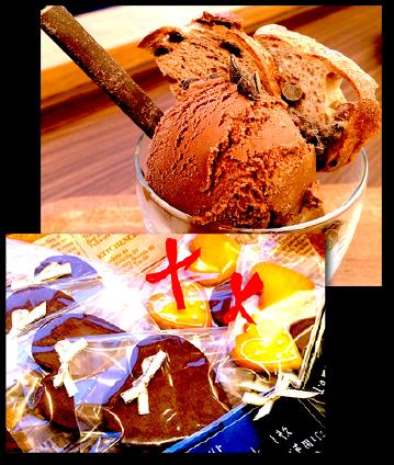 バレンタインならではの「ベルギーチョコアイスクリーム」、新登場のバターをたっぷりと使用したガレット「ダ・ムール」